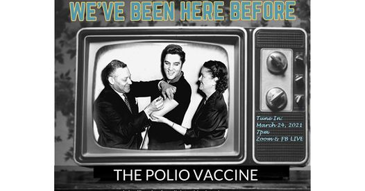 We can learn a lot from history, if we choose to. Mass vaccinations in the 1950s helped eradicate polio from the United States.  Join the discussion of how we conquered this crippling disease 70 years ago with an expert panel including René F. Najera, Dr.PH, Editor, History of Vaccines, College of Physicians of Philadelphia; Chris Crenner, M.D., Ph.D., Hudson-Major Professor and Chair at the University of Kansas Medical Center, and a representative of Rotary International. This program is a partnership with the public libraries in Atchison Public Library, Basehor Community Library, Bonner Springs Public Library, Lansing Community Library, Leavenworth Public Library, Linwood Community Library, and Tonganoxie Public Library.